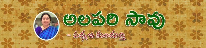 Alapari Saavu Katha