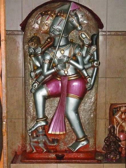 panchamukha anjaneya